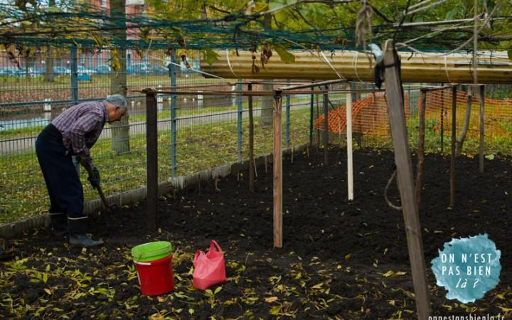 jardin au canal de roubaix